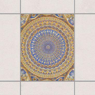 Produktfoto Fliesenaufkleber - Dome of the Mosque 25x20 cm - Fliesensticker Set