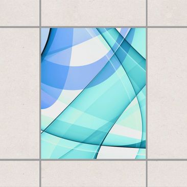 Product picture Tile Sticker - Highway to the Sky 25cm x...