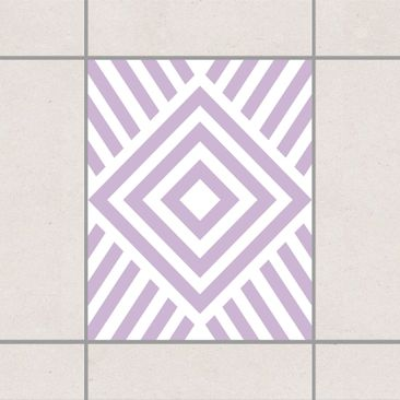 Product picture Tile Sticker - Marina Lavender 25cm x...