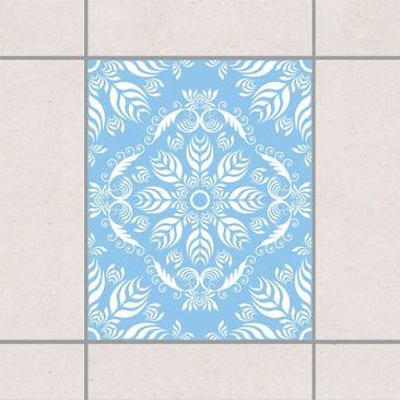Product picture Tile Sticker - Rosamunde Light Blue 25cm...