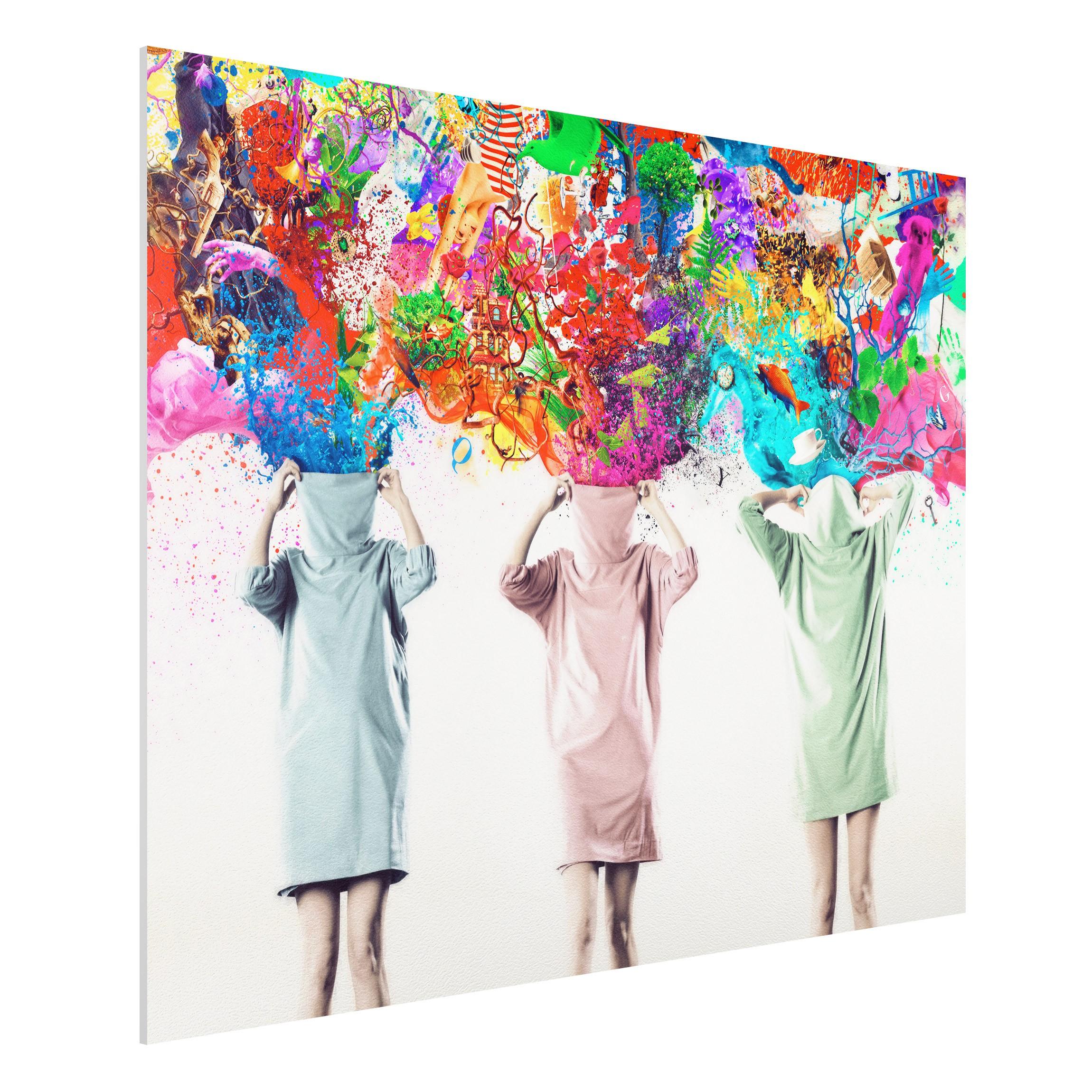 forex fine art print mural brain explosions wide 3 4. Black Bedroom Furniture Sets. Home Design Ideas