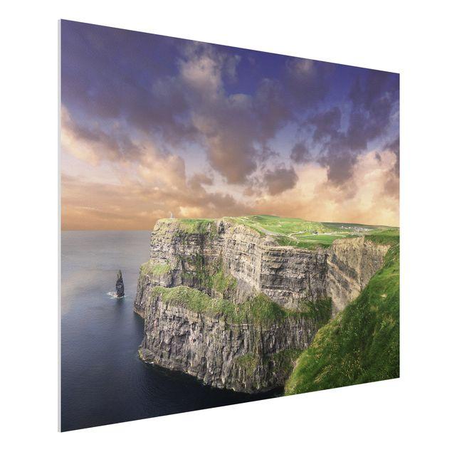 Produktfoto Forex Fine Art Print - Wandbild Cliffs...