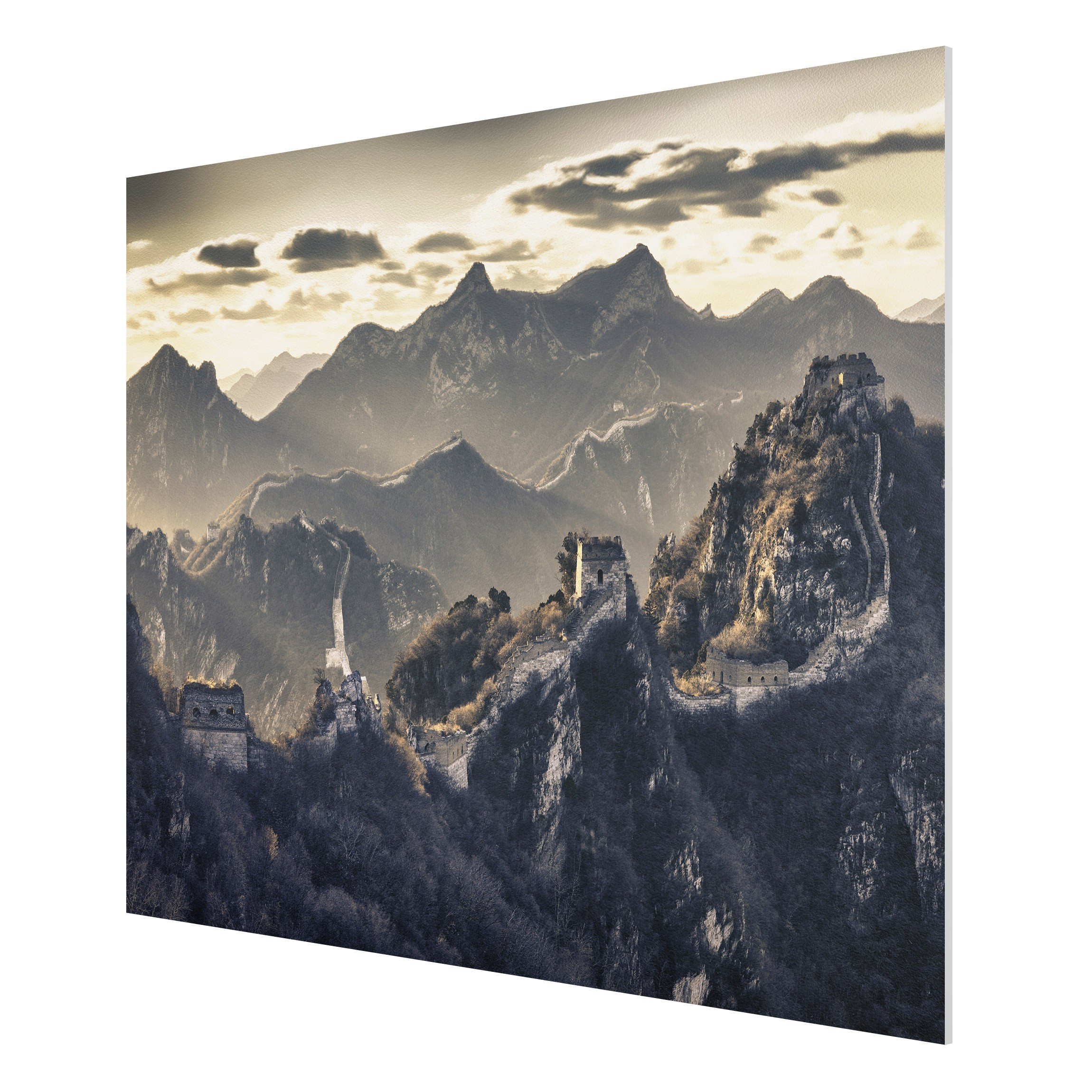 forex fine art print mural the great chinese wall wide 3 4. Black Bedroom Furniture Sets. Home Design Ideas