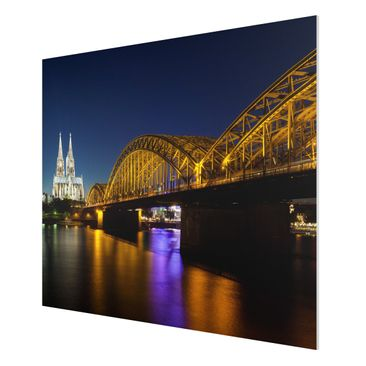 Product picture Forex Fine Art Print - Mural Cologne At...
