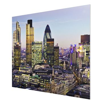 Product picture Forex Fine Art Print - Mural London City...