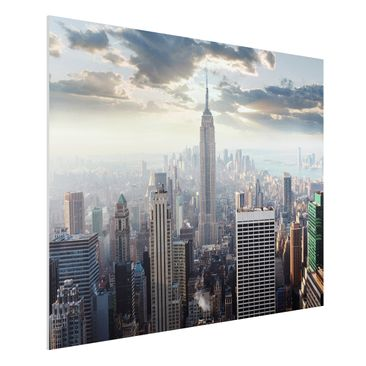 Product picture Forex Fine Art Print - Mural Sunrise In...
