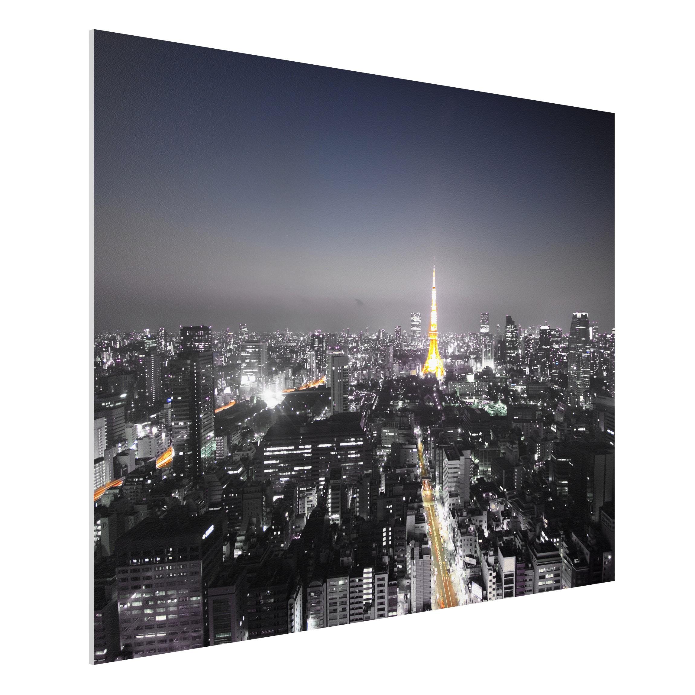 forex fine art print mural tokyo wide 3 4. Black Bedroom Furniture Sets. Home Design Ideas