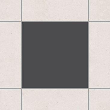 Immagine del prodotto Adesivo per piastrelle - Colour Dark Grey 15cm x 15cm