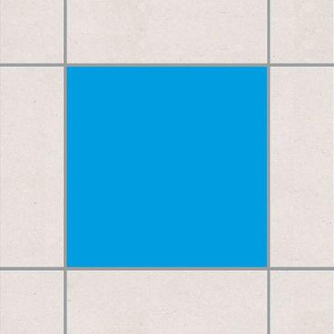 Produktfoto Fliesenaufkleber Bad & Küche - Colour Grey Cyan 15x15 cm - Set Blau