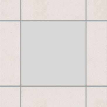 Produktfoto Fliesenaufkleber Bad & Küche - Colour Light Grey 15x15 cm - Set Grau