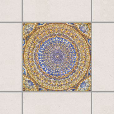 Produktfoto Fliesenaufkleber - Dome of the Mosque 15x15 cm - Fliesensticker Set