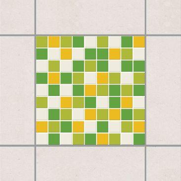 Immagine del prodotto Adesivo per piastrelle - Mosaic Tiles Spring Set 15cm x 15cm