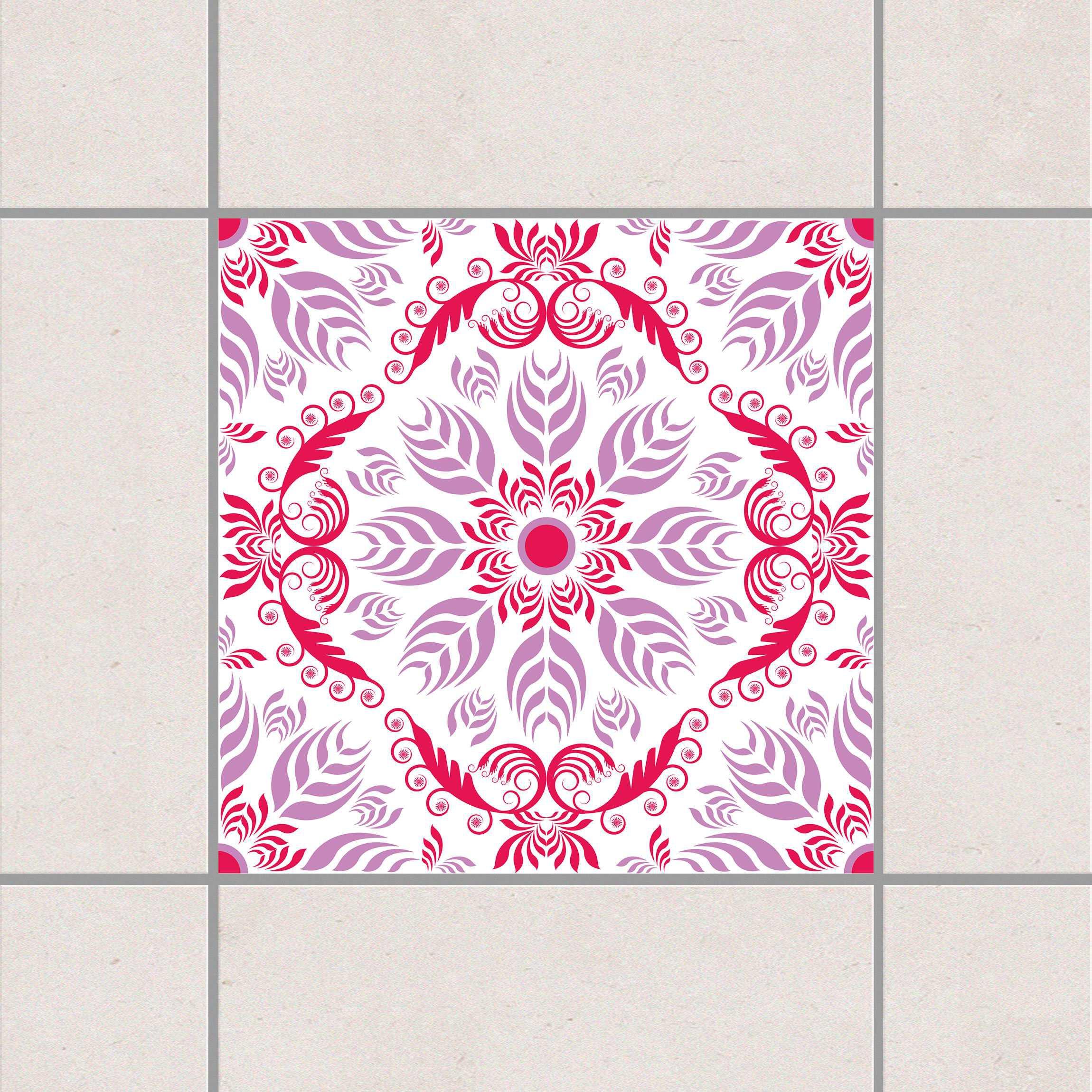 Fliesenaufkleber rosamunde 15x15 cm fliesensticker set for Fliesenaufkleber 15x15