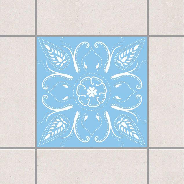 Produktfoto Fliesenaufkleber - Bandana Light Blue...