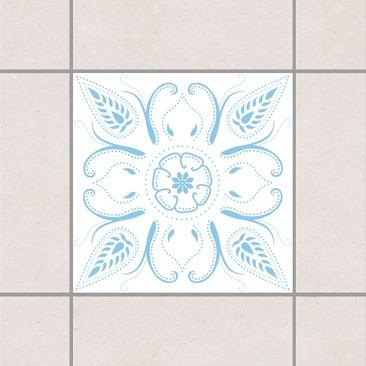 Immagine del prodotto Adesivo per piastrelle - Bandana White Light Blue 20cm x 20cm