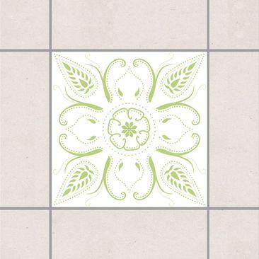 Immagine del prodotto Adesivo per piastrelle - Bandana White Spring Green 20cm x 20cm
