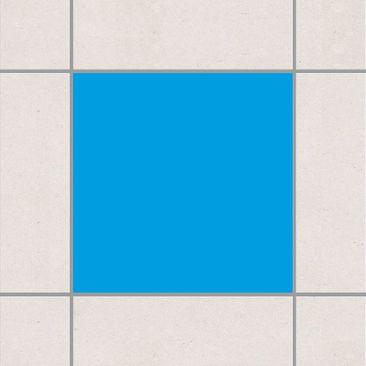 Produktfoto Fliesenaufkleber Bad & Küche - Colour Grey Cyan 20x20 cm - Set Blau