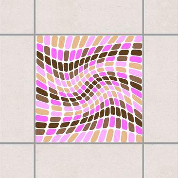 Immagine del prodotto Adesivo per piastrelle - Dancing Square 20cm x 20cm