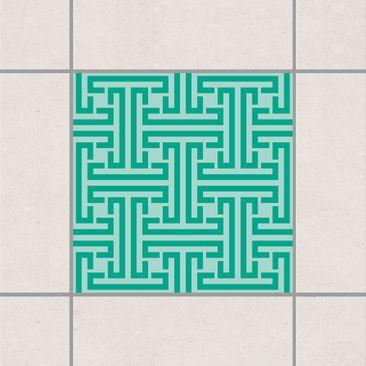 Immagine del prodotto Adesivo per piastrelle - Decorative labyrinth 20cm x 20cm