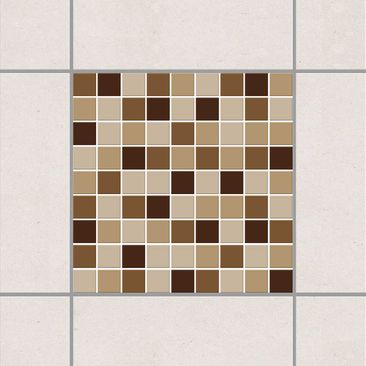 Product picture Tile Sticker - Mosaic Tiles Autumn Set...