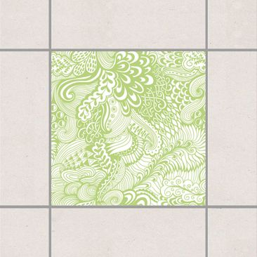 Product picture Tile Sticker - Poseidon's Garden Spring...