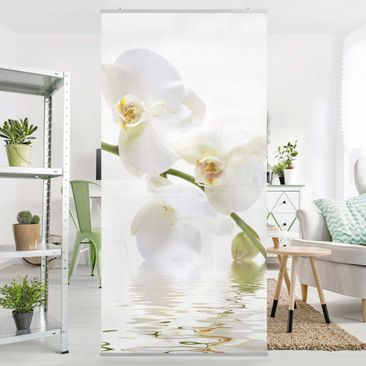 Product picture Panel Curtain White Orchid Waters...