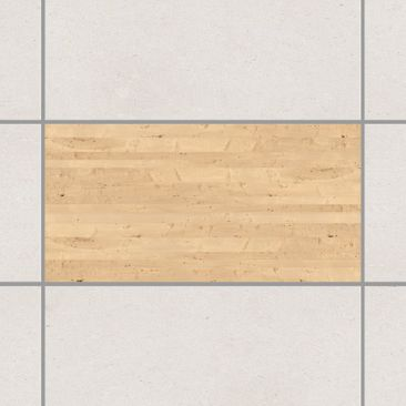 Product picture Tile Sticker - Apple Birch 30cm x 60cm