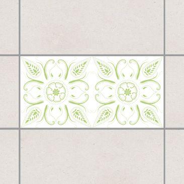 Immagine del prodotto Adesivo per piastrelle - Bandana White Spring Green 30cm x 60cm