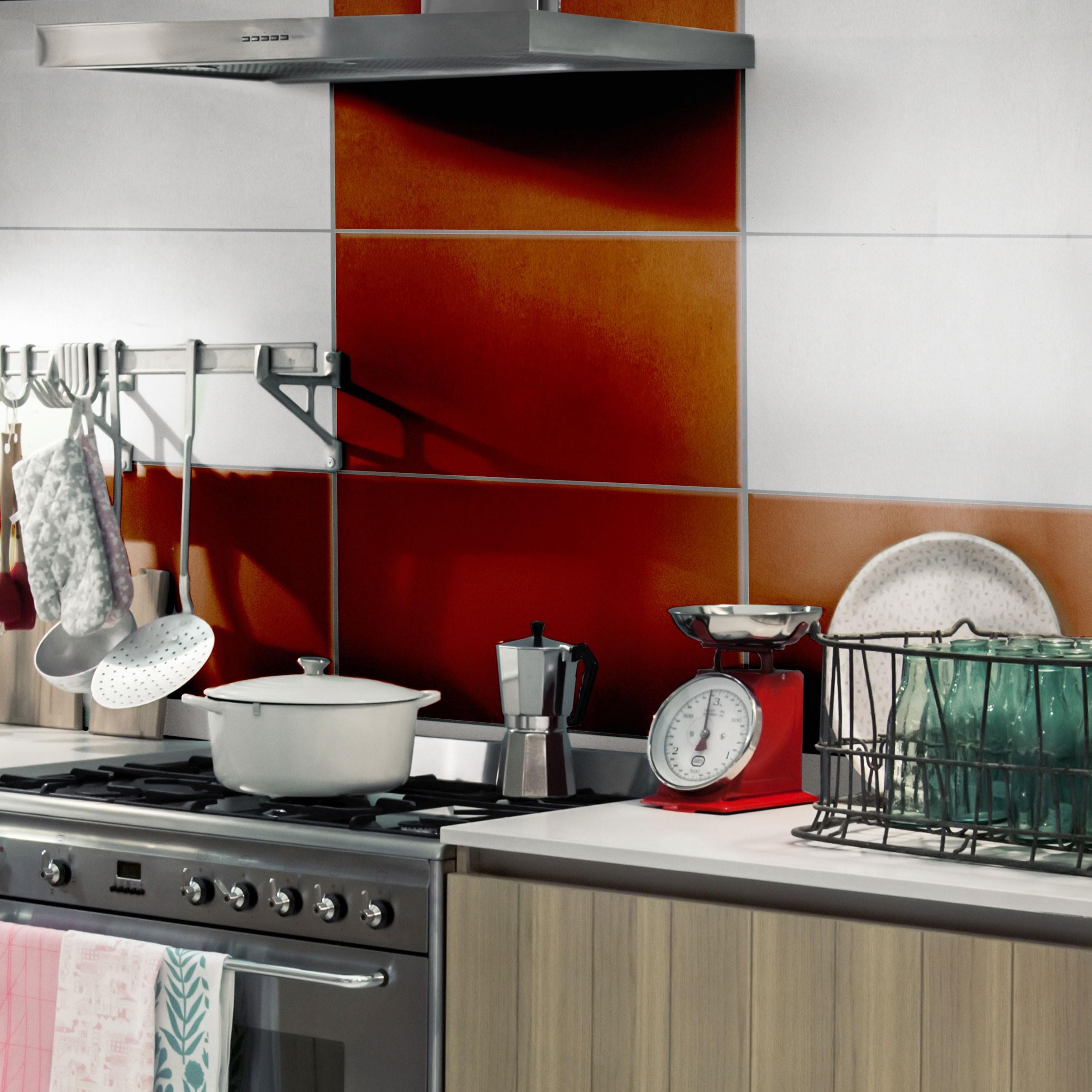 fliesenaufkleber bad k che colour chocolate 30x60 cm set braun On fliesenaufkleber küche