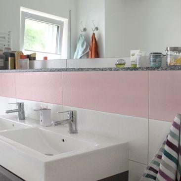 Product picture Tile Sticker - Colour Rose 30cm x 60cm