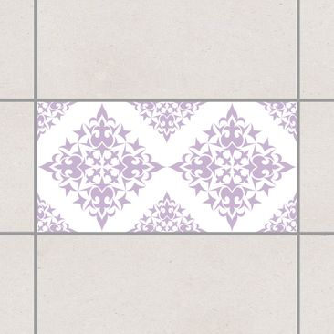 Product picture Tile Sticker - Tile Pattern White...