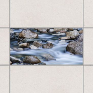 Product picture Tile Sticker - River in Canada 30cm x...