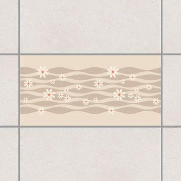 Produktfoto Fliesenaufkleber - Gänseblümchen 30x60 cm - Fliesensticker Set