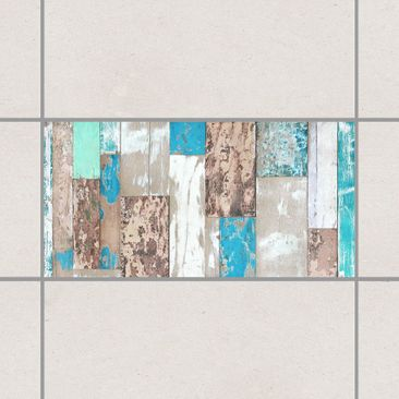 Product picture Tile Sticker - Maritime Planks 30cm x...