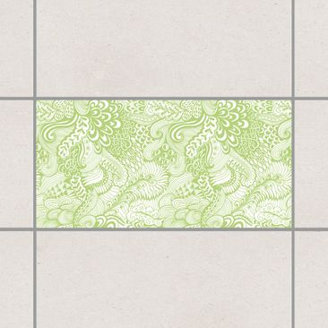 Product picture Tile Sticker - Poseidon's Garden Spring...