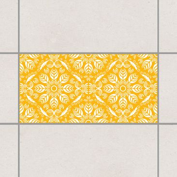 Product picture Tile Sticker - Rosamunde Melon Yellow...