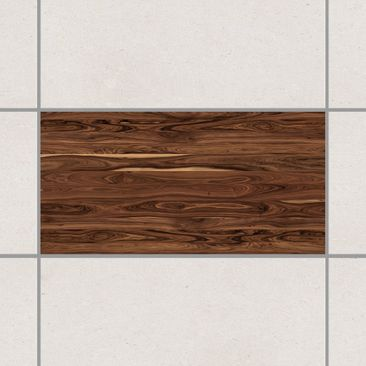 Product picture Tile Sticker - Santos Rosewood 30cm x...