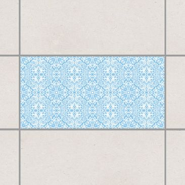 Product picture Tile Sticker - Time Curls By Light Blue...