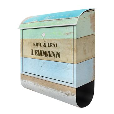Product picture Design Letter Box Your Own Words Rustic...