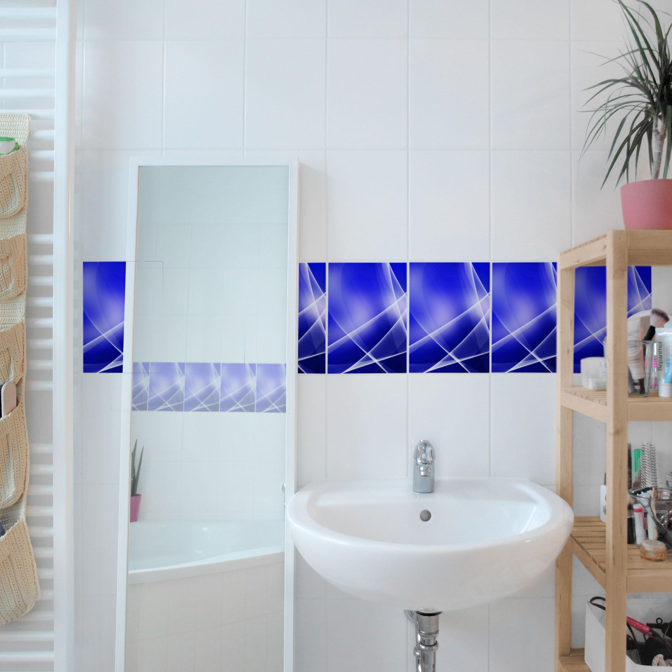 fliesen bord re blue disco 20x15 cm fliesenaufkleber. Black Bedroom Furniture Sets. Home Design Ideas