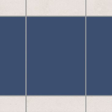 Product picture Tile Border - Colour Grey Blue 20cm x...