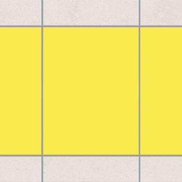 Produktfoto Fliesen Bordüre - Colour Lemon Yellow...