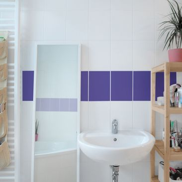 Product picture Tile Border - Colour Lilac 20cm x 15cm