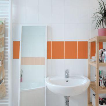 Product picture Tile Border - Colour Orange 20cm x 15cm
