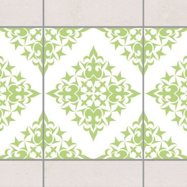Product picture Tile Border - Tile Pattern White Spring...