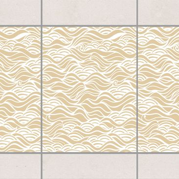 Product picture Tile Border - They dreamed of delicate...