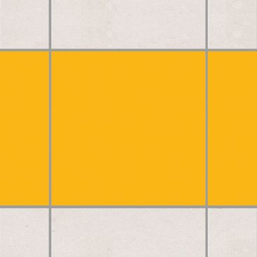 Product picture Tile Border - Colour Melon Yellow 10cm x...