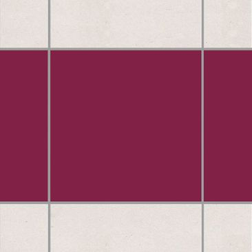 Produktfoto Tile Border - Colour Wine Red 10cm x...