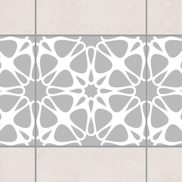 Produktfoto Fliesen Bordüre - Floral Kristall 20x20...