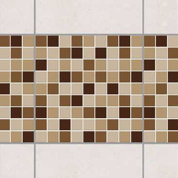 Product picture Tile Border - Mosaic Tiles Autumn Set...